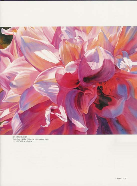 Painting Close-Focus Flowers In Watercolor - Ann Pember